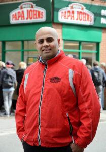 Gurnek Singh franchise owner