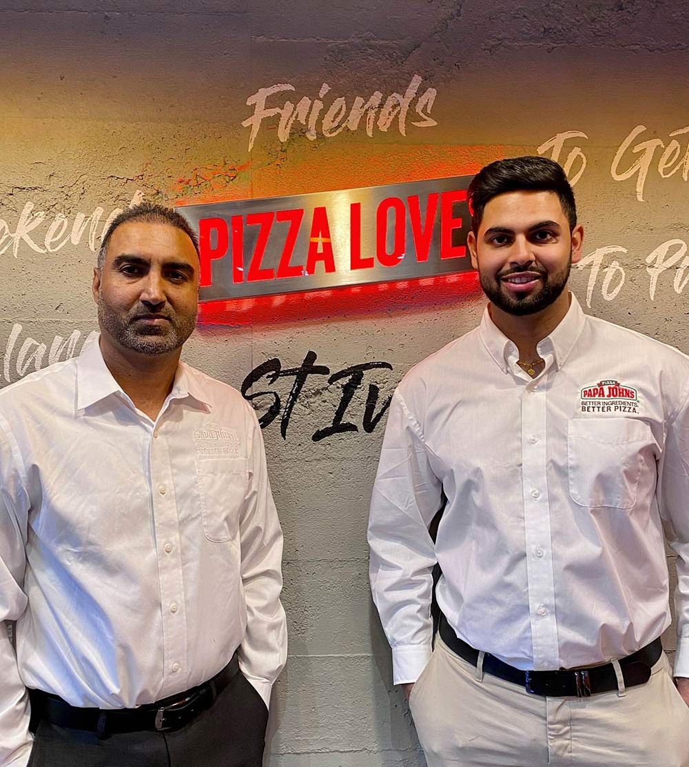 A day in the life of a Papa John's franchisee business partner